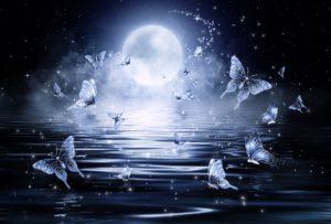 Fuldmåne i Tyrens tegn den 24. oktober 2018. Elektrisk kærlighed.