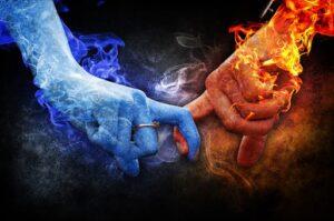 Astrologiske temaer i parforhold og ægteskab