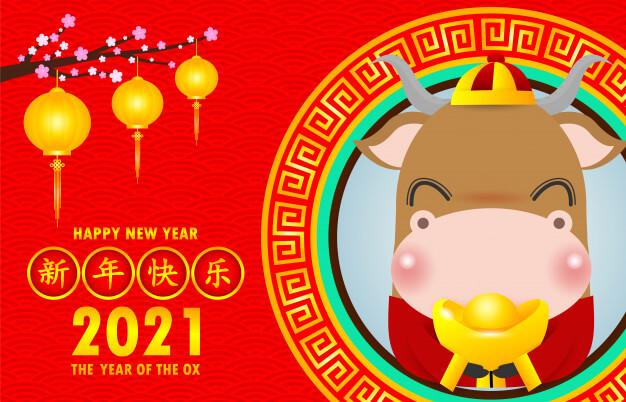 Oksens år 2021-2022 (kinesisk astrologi). Guldkalven.
