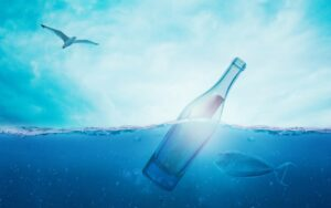 Merkur i Fiskene marts-april 2021. Flaskepost fra kosmos.