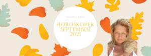Alle månedshoroskoper for september 2021 er oppe!
