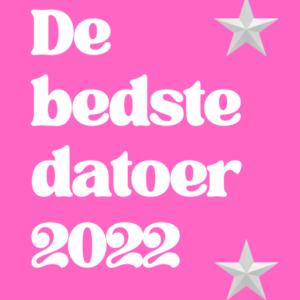 "E-bog ""De bedste datoer 2022"""